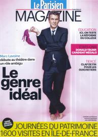 Le Parisien Magazine - Septembre 2015